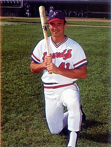 is a former professional baseball player for the Detroit Tigers, St. Louis Cardinals and San Francisco Giants in the 1980s and 1990s. He is best known for once hitting a foul ball out of the second Busch Stadium